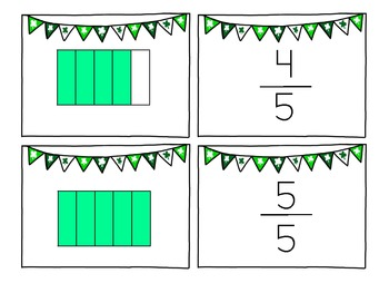 St. Patrick's Day Fun With Fractions as Part of a WHOLE
