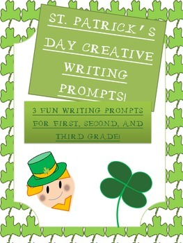 St. Patrick's Day Fun Writing Prompts!