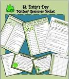 St Patrick's Day Fun:Homonyms Mystery Verbs & Nouns GRAMMAR Libs Scramble