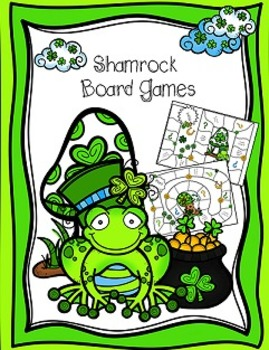 St. Patrick's Day {Game Boards}