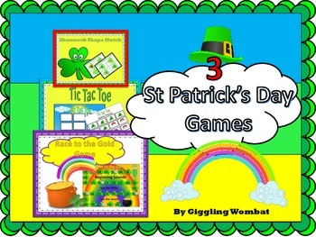 St Patrick's Day Game Pack