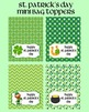 St Patrick's Day Gift Bundle - Bookmarks, Gift Tags, Treat Bag Toppers