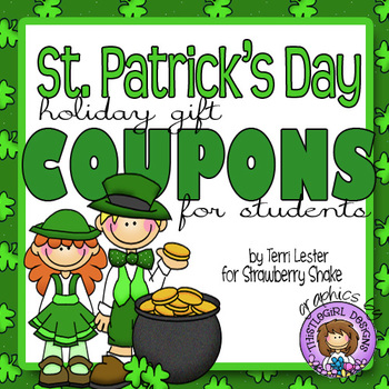 St. Patrick's Day Gift Coupons for Students