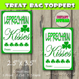 St Patricks Day Gift Favor Tags Set of 8 Instant Download Print at Home