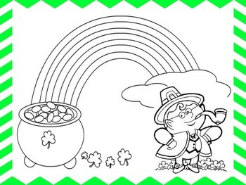 St. Patrick's Day ELA & Math Activities