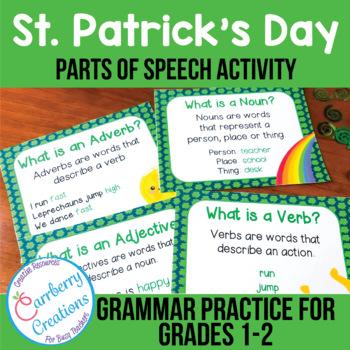 St. Patrick's Day Grammar Activity