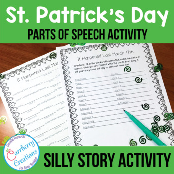 Parts of Speech Activity for St. Patrick's Day