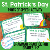 St. Patrick's Day Grammar Activity