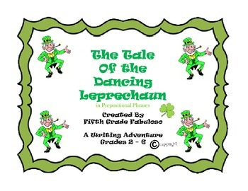 St. Patrick's Day Grammar, Writing, & Art Activity