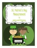 St. Patrick's Day - Grams and Kilograms game