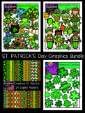 St Patrick's Day Graphics Bundle {Creative Clips Digital Clipart}