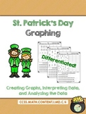 St. Patrick's Day Graphing {CCSS Aligned & Differentiated!}