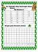 St. Patrick's Day Graphing and Scavenger Hunt