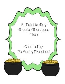 St Patrick's Day Greater Than, Less Than