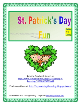 St. Patrick's Day Green Fun!