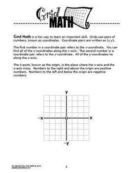St. Patrick's Day Mystery Puzzle–Coordinate Graphing Picture