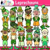 Leprechaun Clip Art {St. Patrick's Trolls for Worksheets,