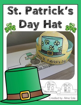 St. Patrick's Day Hat (Headband)
