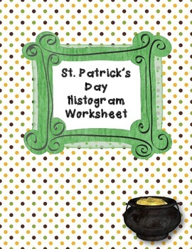 St. Patrick's Day Histogram Worksheet