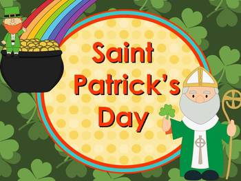 St. Patrick's Day History and Math Fun Pack