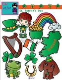 St. Patrick's Day Holiday Theme Clip Art Bundle