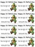 St. Patrick's Day Homework Pass