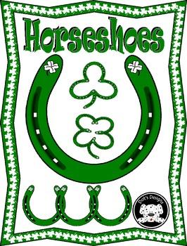 St. Patrick's Day Clip Art ~ Horseshoes
