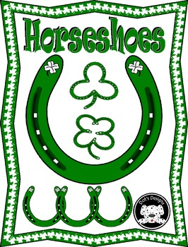 St. Patrick's Day Clip Art ~ Horseshoes
