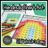 Hundreds Chart Art: St. Patrick's Day (Mystery Picture)
