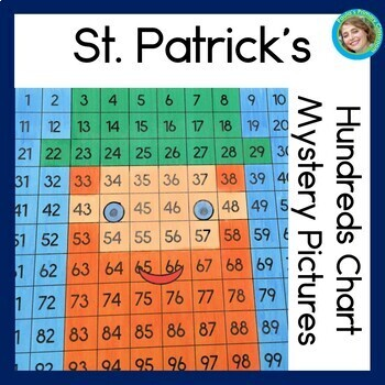 St. Patrick's Day Hundreds Charts Mystery Pictures