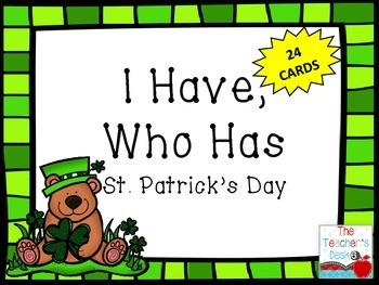 St. Patrick's Day I Have, Who Has?