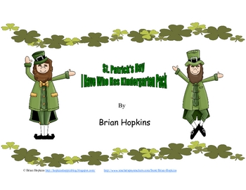 St. Patrick's Day I Have Who Has Kindergarten Games