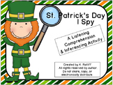 St. Patrick's Day I Spy:  A Listening Comprehension & Inferencing Activity