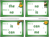 """St. Patrick's Day """"I have... Who has..."""" type game with 76 sight words"""