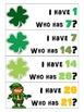 Kindergarten Number Identification Game - St. Patrick's Day