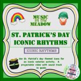 St Patricks Day Iconic Rhythm Activty