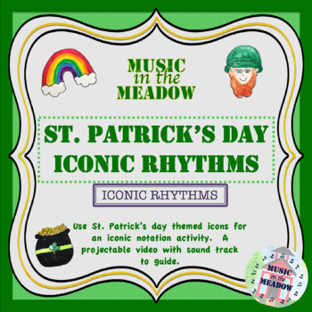 St Patricks Day Iconic Rhythm Activty