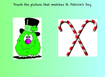 St. Patrick's Day Identification Game