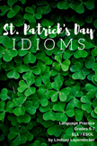 Idiom Lesson Plan & Worksheet - St. Patrick's Day