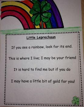 St. Patricks Day If You See a Rainbow Leprechaun and Clover Creativity