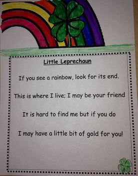 St. Patricks Day If You See a Rainbow Leprechaun and Clove
