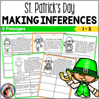 St. Patrick's Day Inferring Mini Passages with Built-in Inferences