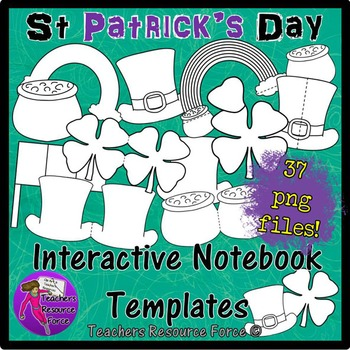St Patrick's Day: Interactive Notebook Templates