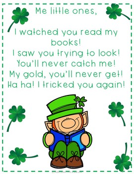 St. Patrick's Day Interactive Reading Activities, Digraphs, Sight Words, Letter,