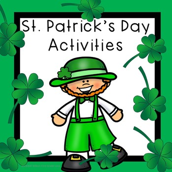 St. Patrick's Day Activities First Grade
