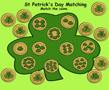 St. Patrick's Day Interactive Smartboard Activities and Printables for K-1