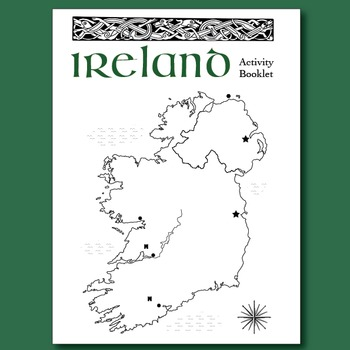 St. Patrick's Day Ireland Activity Booklet