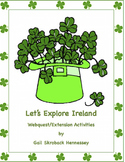 St. Patrick's Day-Ireland Webquest and Activities