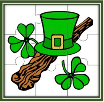 St. Patrick's Day Jigsaw Puzzle Set