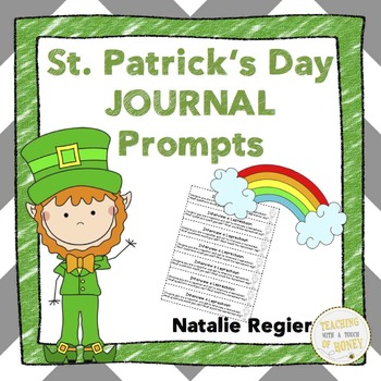 Writing Prompts For St. Patrick's Day: 25 Cut-And-Paste Writing Prompts